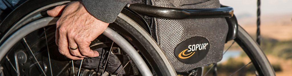 Berufsunfähigkeitsversicherung Rollstuhl