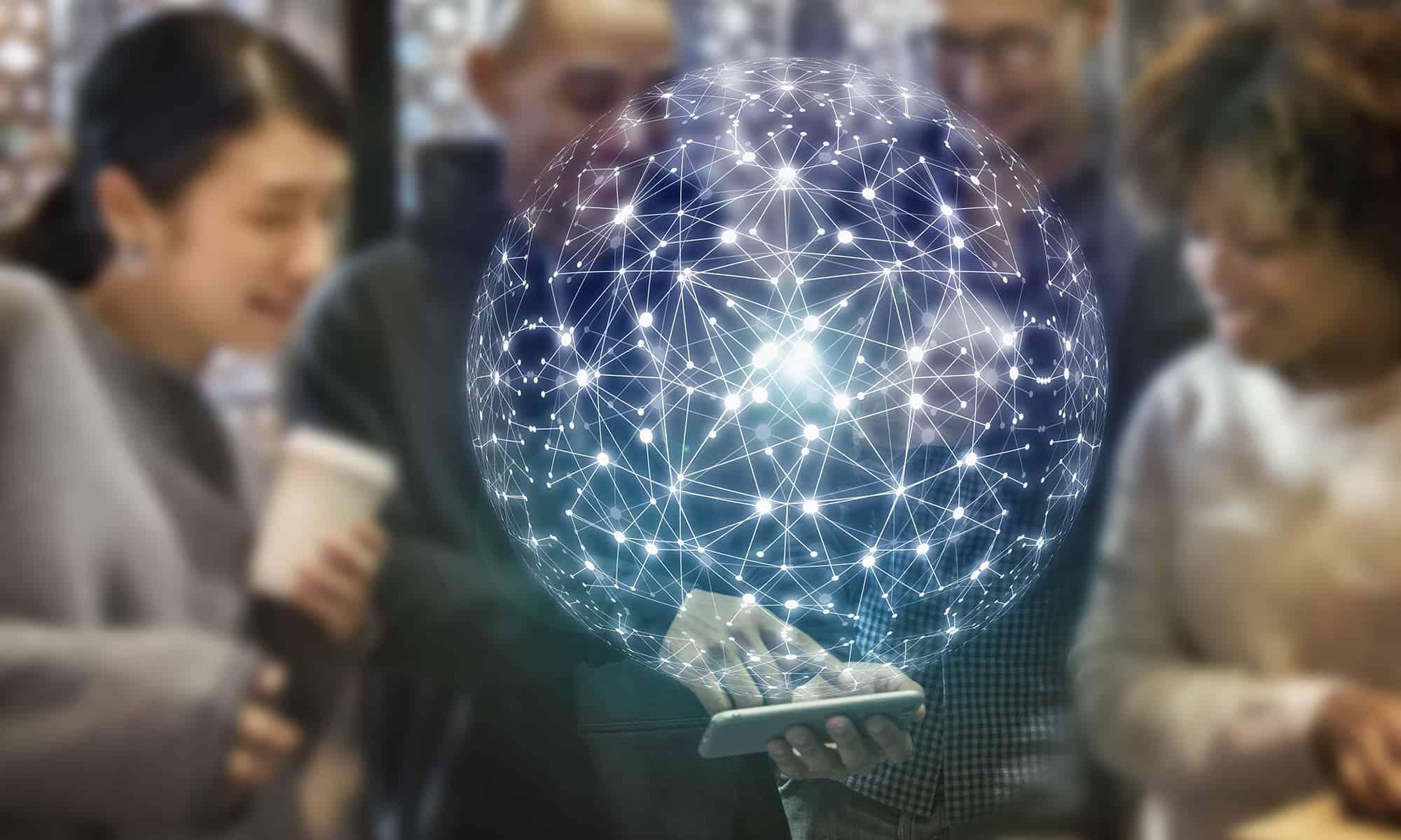 Cyberschutz Vernetzung Internet