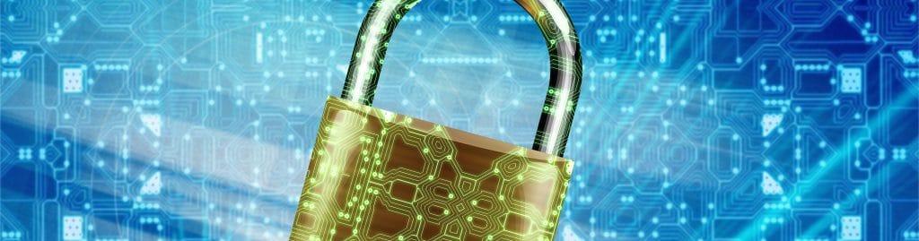 Datenschutz Schloss Cyber