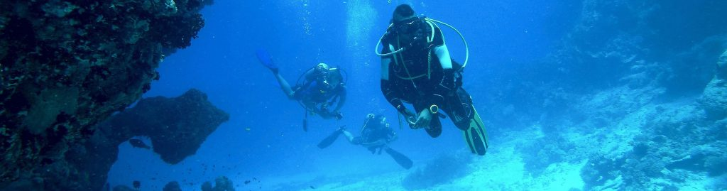Spezialversicherung Taucher Unterwasserwelt